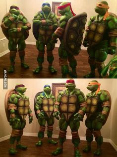 Homemade ninja turtles costumes costumes pinterest turtle homemade ninja turtles costumes solutioingenieria Image collections
