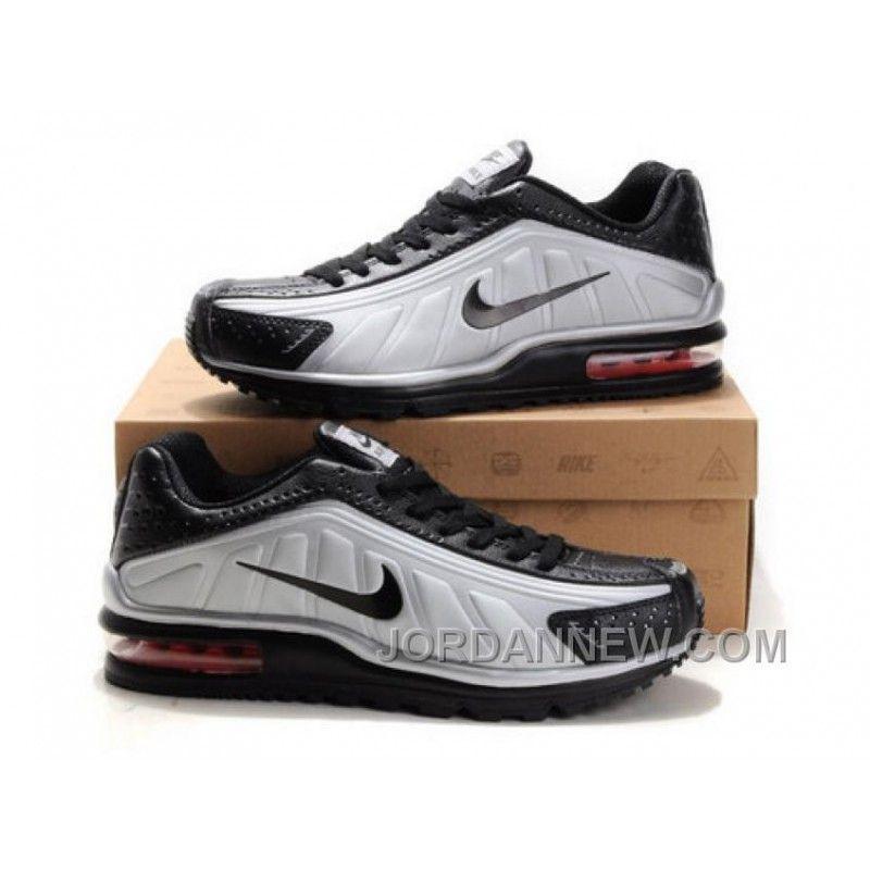 Men s Nike Shox R4   Air Max LTD Shoes Silver Black Online  084308dea