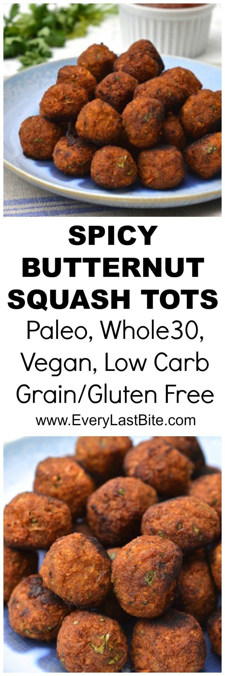 Butternut Squash Tots Recipes, Vegan eating, Vegan dishes