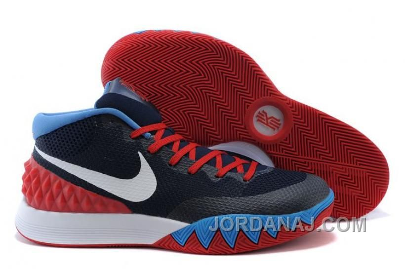 4cb889a27a9c Discover the Online Nike Kyrie 1 Red White And Blue group at Footseek.nl  today. Shop Online Nike Kyrie 1 Red White And Blue black