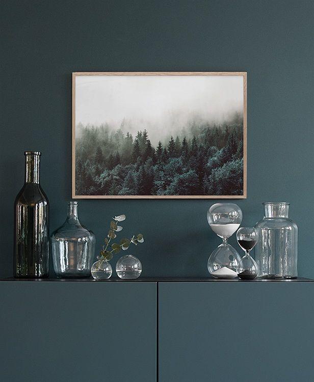Poster Mit Naturfotos Für Das Wohnzimmer