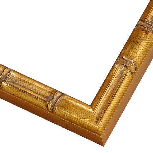 Custom Frames | Medium Gold Wood Frame | BAM6 | PictureFrames.com ...