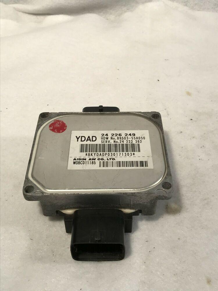 02 03 Saturn Vue 3 0 Tcm Tcu Transmission Control Module 24 226 249 24222362 Saturngm Fuse Box Saturn Dash Lights