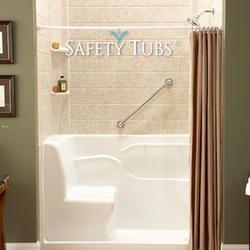 Safety Tubs Reg Acrylic Seated Shower 60 X 30 X 37 Right Side Drain Tub Bathtub Shower Shower