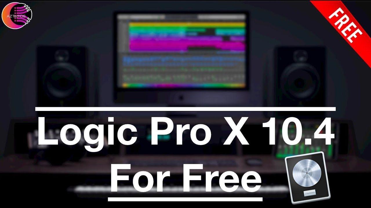 logic pro x free download 10.4
