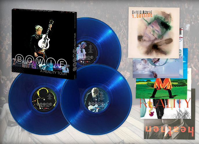 Friday Music Store Win A David Bowie Box Set Vinyl Bundle Sweepstakes Den David Bowie Friday Music Boxset