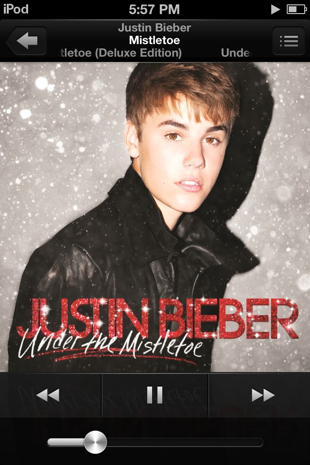 Justin beiber is awesome! | Justin bieber christmas, Justin bieber albums, Justin bieber mistletoe