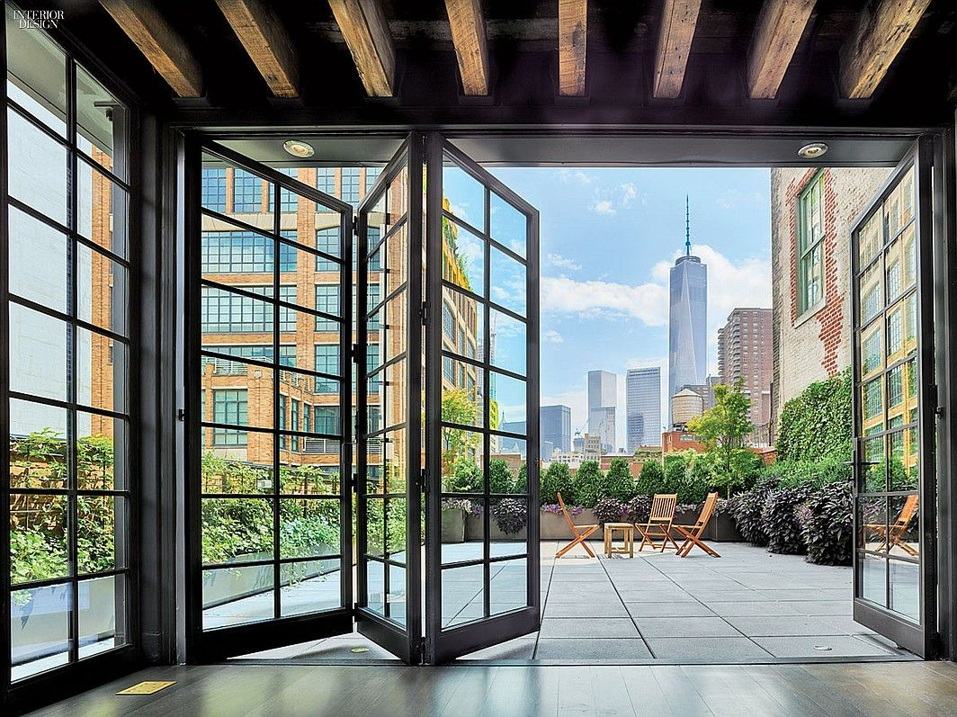 12 Spectacular New York City Residences Steel WindowsSteel DoorsInterior Design