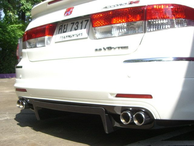 Rear Diffuser On 7th Gen Accord Honda Accord Accord Coupe Honda City
