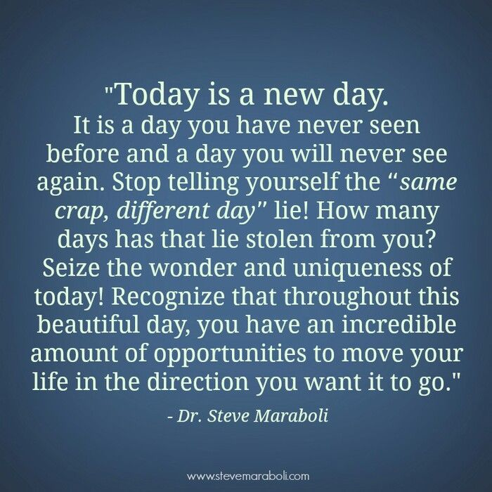 Today is a new day. Regardless of the hardships, the pain, the weather, the ups and downs, think for a minute, that's it's a new day to wipe away the bad days and it's time to plant your feet to the ground and #moveforward.   Don't let anything hold you back.   #motivation #neverquit #driven #quotes #life #ifeelthemotivation