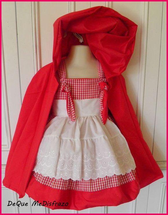 disfraz caperucita roja disfraces halloween pinterest disfraz caperucita roja rojo y caperucita roja