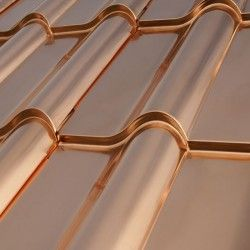 Copper Roofing Metal Roof Colors Metal Roof Copper Roof