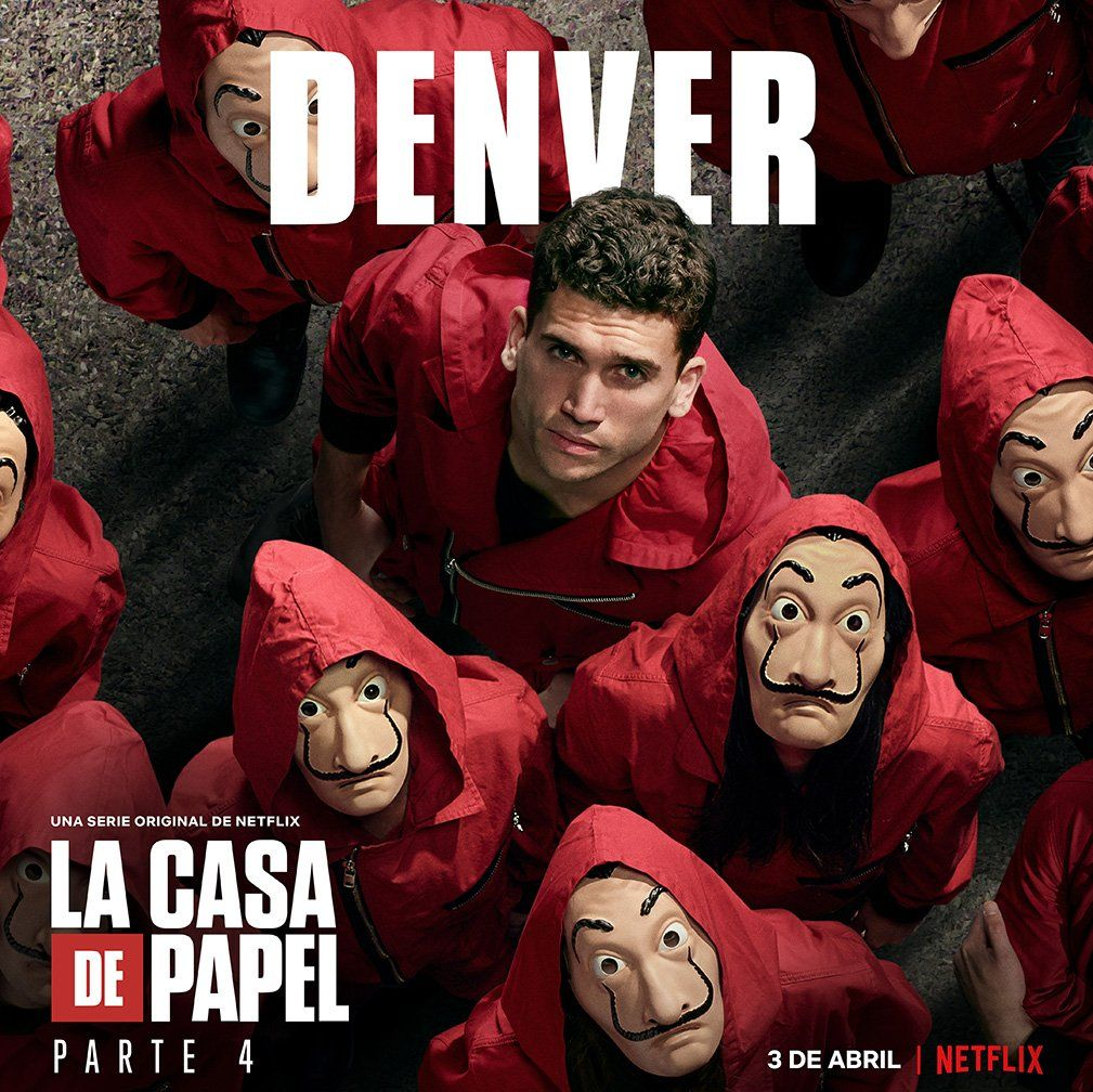 La Casa De Papel On Twitter Netflix Series Tv Series Best Series
