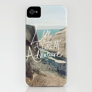 Great Adventure iPhone Case by Leah Flores - $35.00