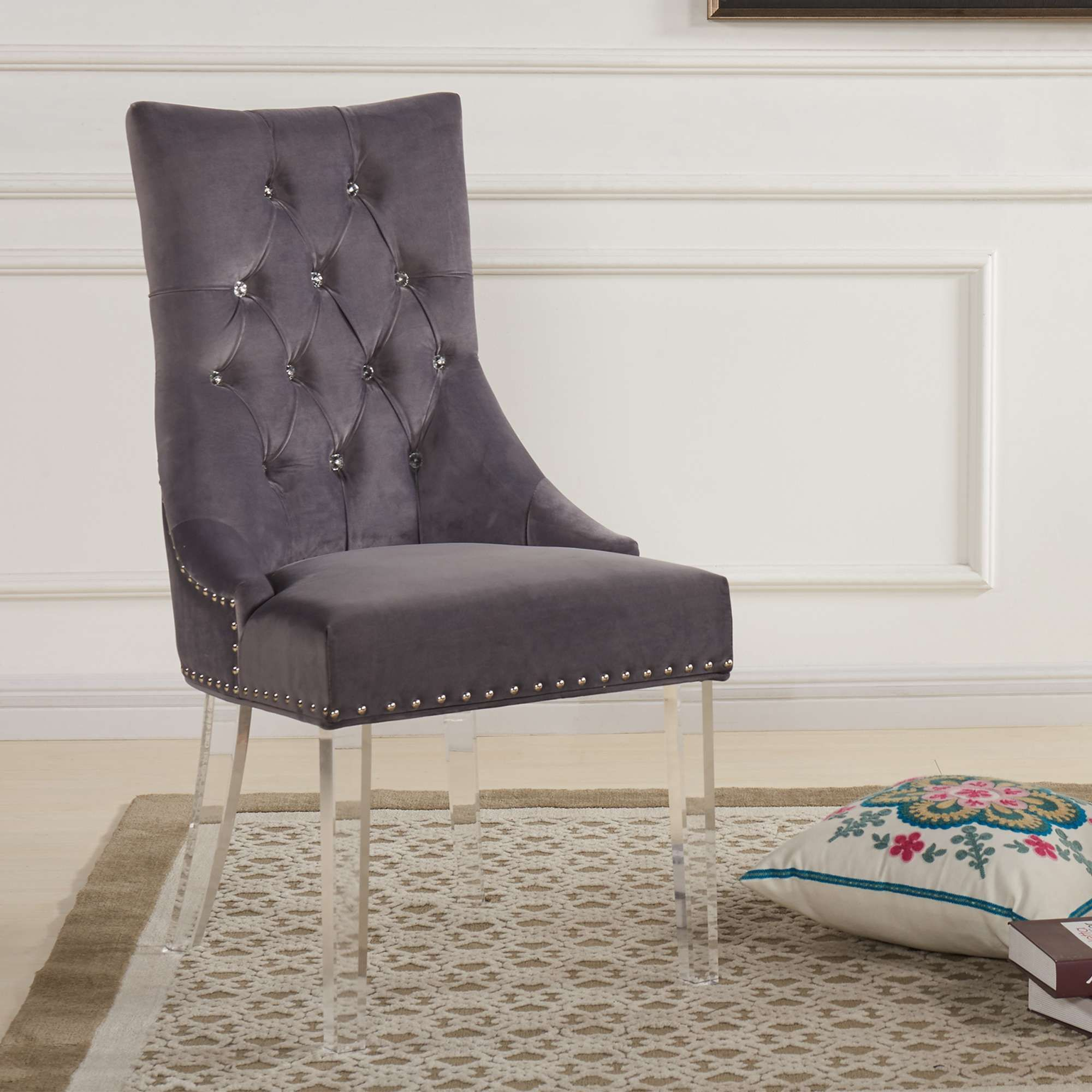 Lowest Price On Armen Living Gobi Modern And Contemporary Tufted