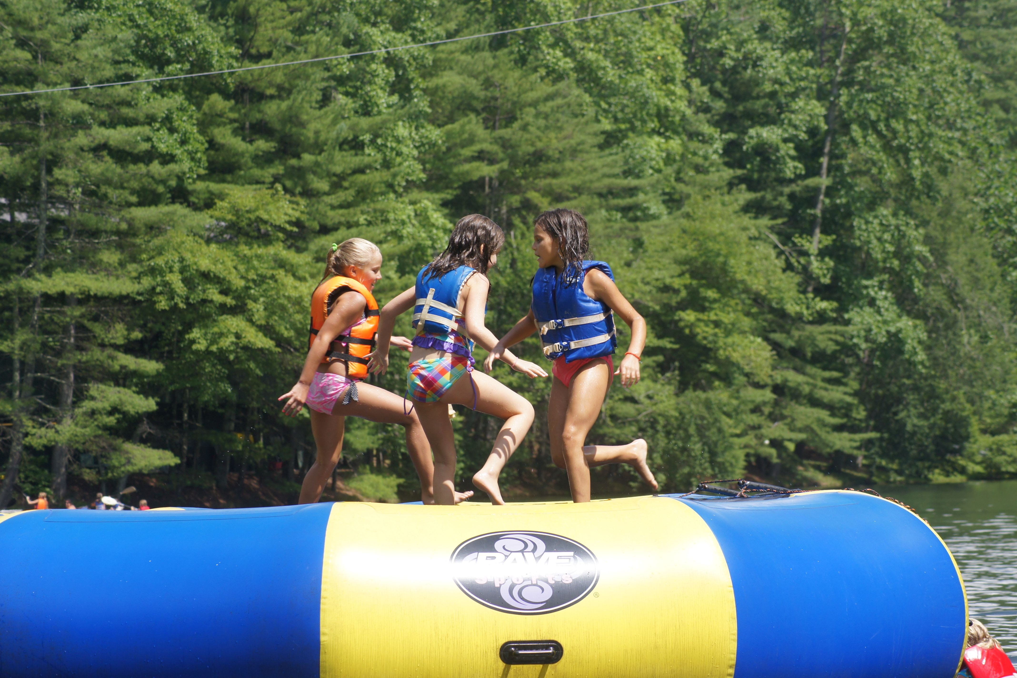 Jump, jump on it! Campy, Camping, Sports