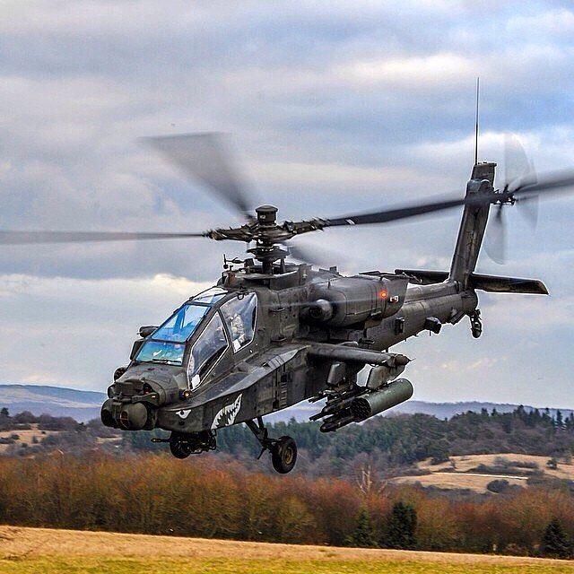 US Air Force AH-64Apache