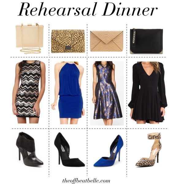 Wear To A Winter Rehearsal Dinner