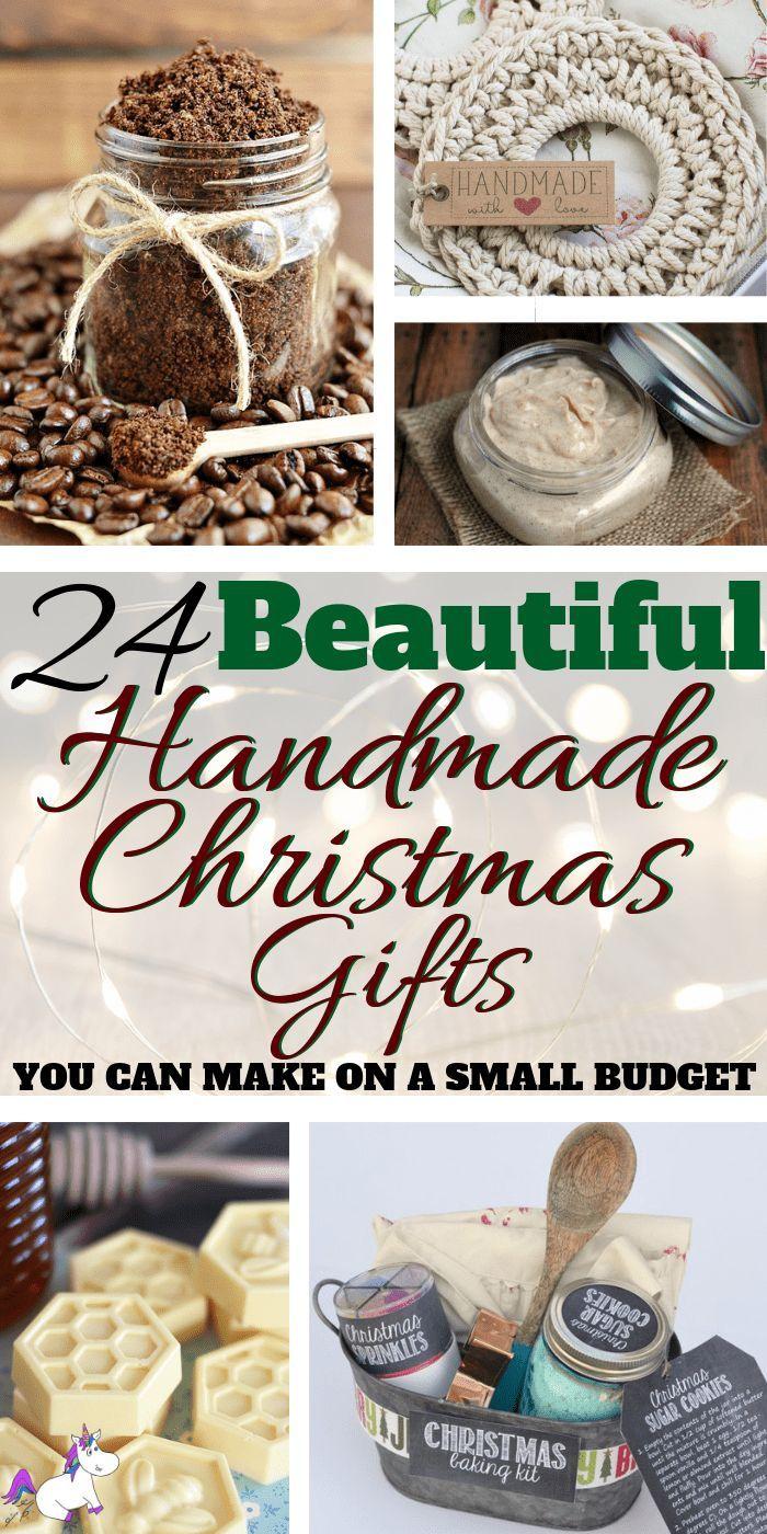 24 beautiful handmade christmas gifts