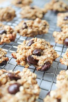 Easy Banana Chocolate Chip Cookies