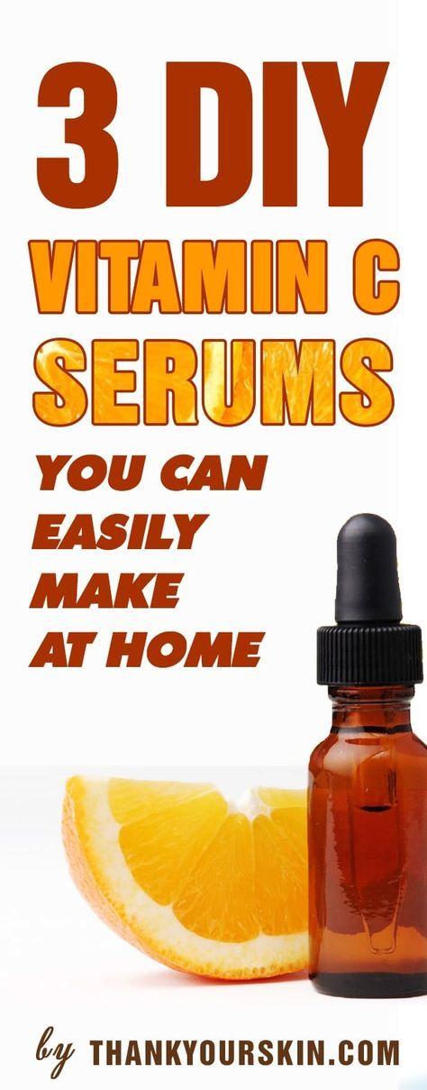 DIY Vitamin C Serum for face (That Actually Works) Homemade Vitamin C facial serum