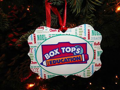Boxtops Supporters!! Get your Box Tops for Education Holiday Ornament! There's Boxtops Moms Holiday Ornament too! Hurry before they're out! I love this!