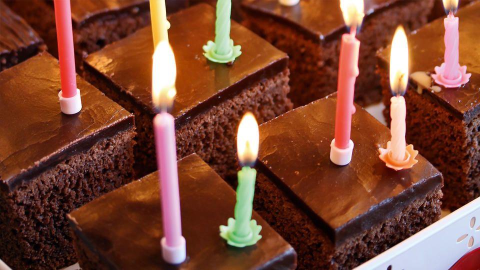 myk sjokoladekake