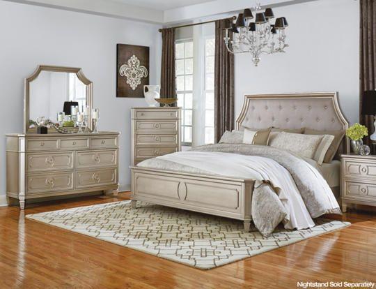 6 Piece Queen Bedroom Set - Art Van Furniture | Bedroom ...
