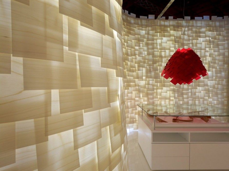 Translucent Wood Veneer Backlit Translucent Wall Ikea
