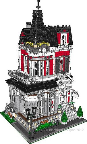 Queen Anne Victorian Pdf Instructions Queen Anne Lego And Custom Lego