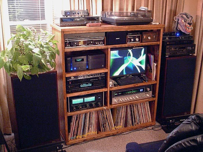 Let S See Your Unique Stereo Cabinets And Entertainment Centers Audiokarma Org Home Audio