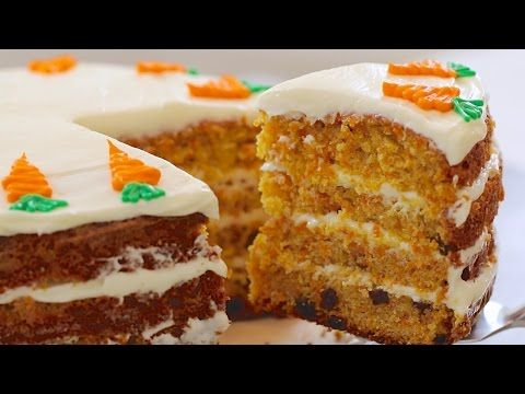 Learn How To Make The Best Ever Carrot Cake And Just How Easy It Is To Make Your Own Lovely Cream Cheese Frosti Carrot Cake Recipe Cake Recipes Uk Cake Recipes