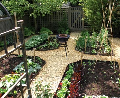 This vegetable plot was made from our EverEdge Classic ...