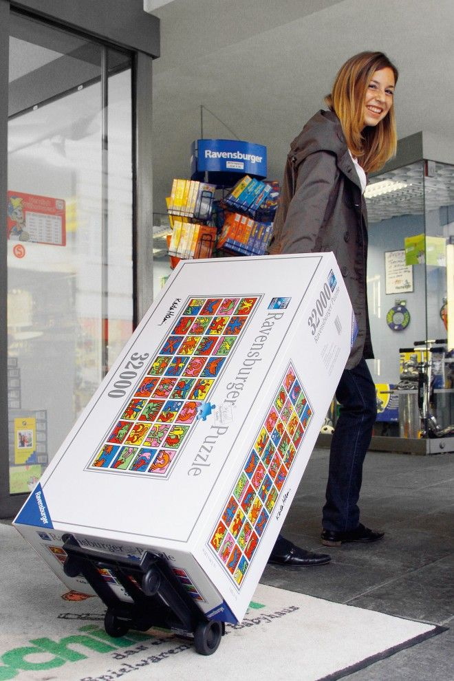 Ravensburger Shatters Record With 32000 Piece Puzzle Th