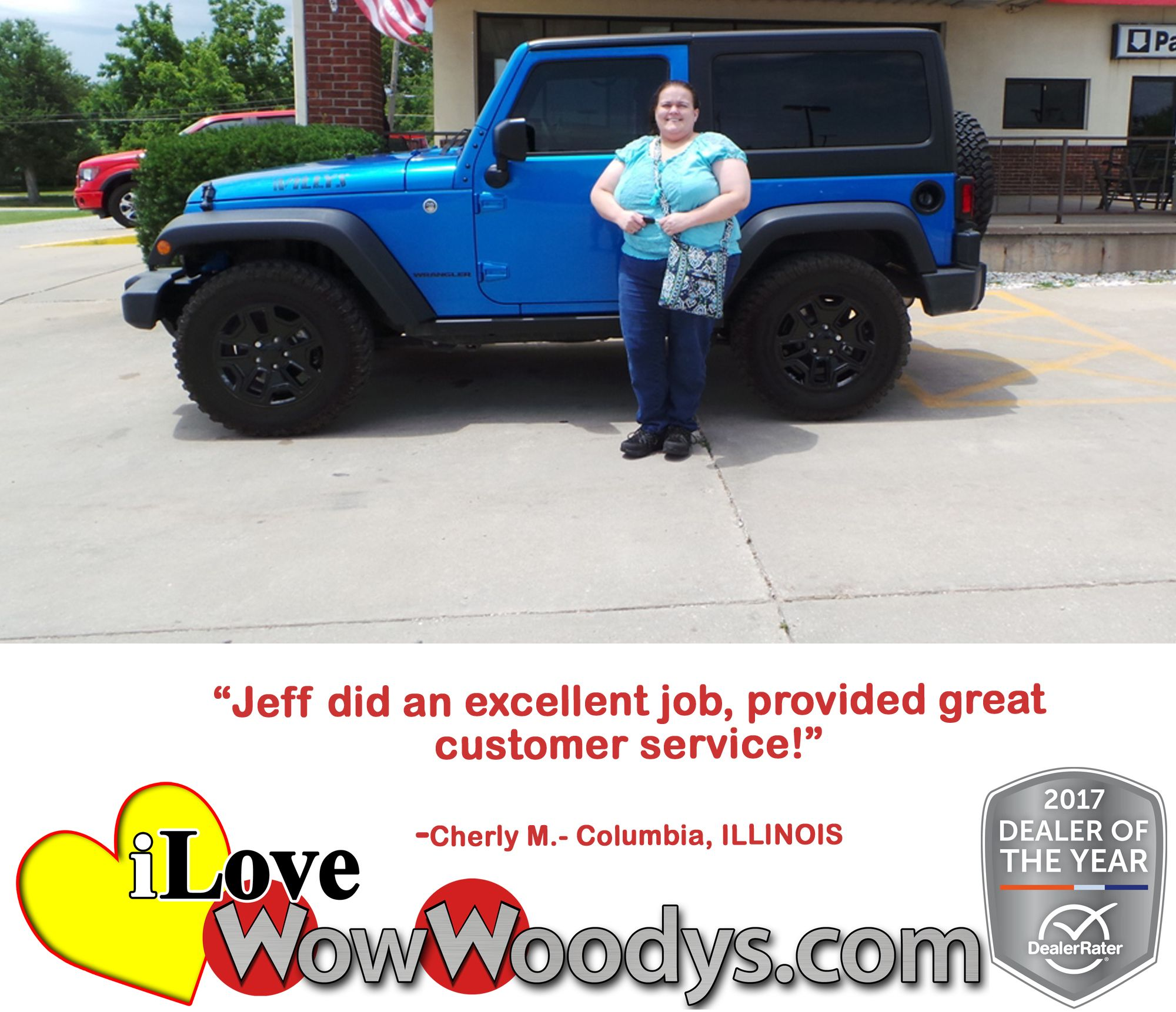 Jeep Customer Service >> Columbia Illinois Jeep Wrangler Customer Says Jeff Did An