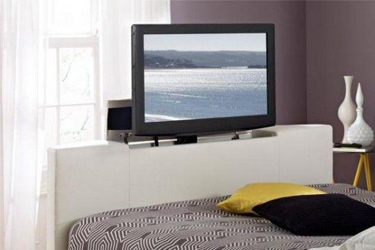 Tv ai piedi del letto | Home Sweet Home | Pinterest | TVs