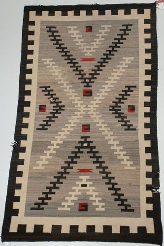 Navajo Rug Blanket Old Estate Rra 5x8 Native American Indian 116460 Ebay