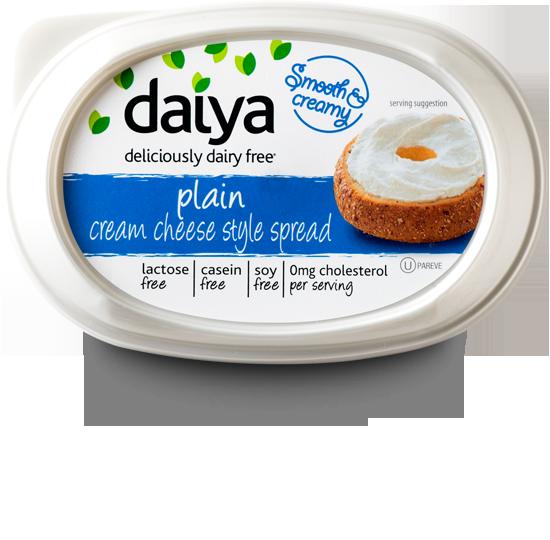 Daiyacremcheese Png 550 540 Dairy Free Cream Cheese Dairy Free Cream Dairy Free Diet