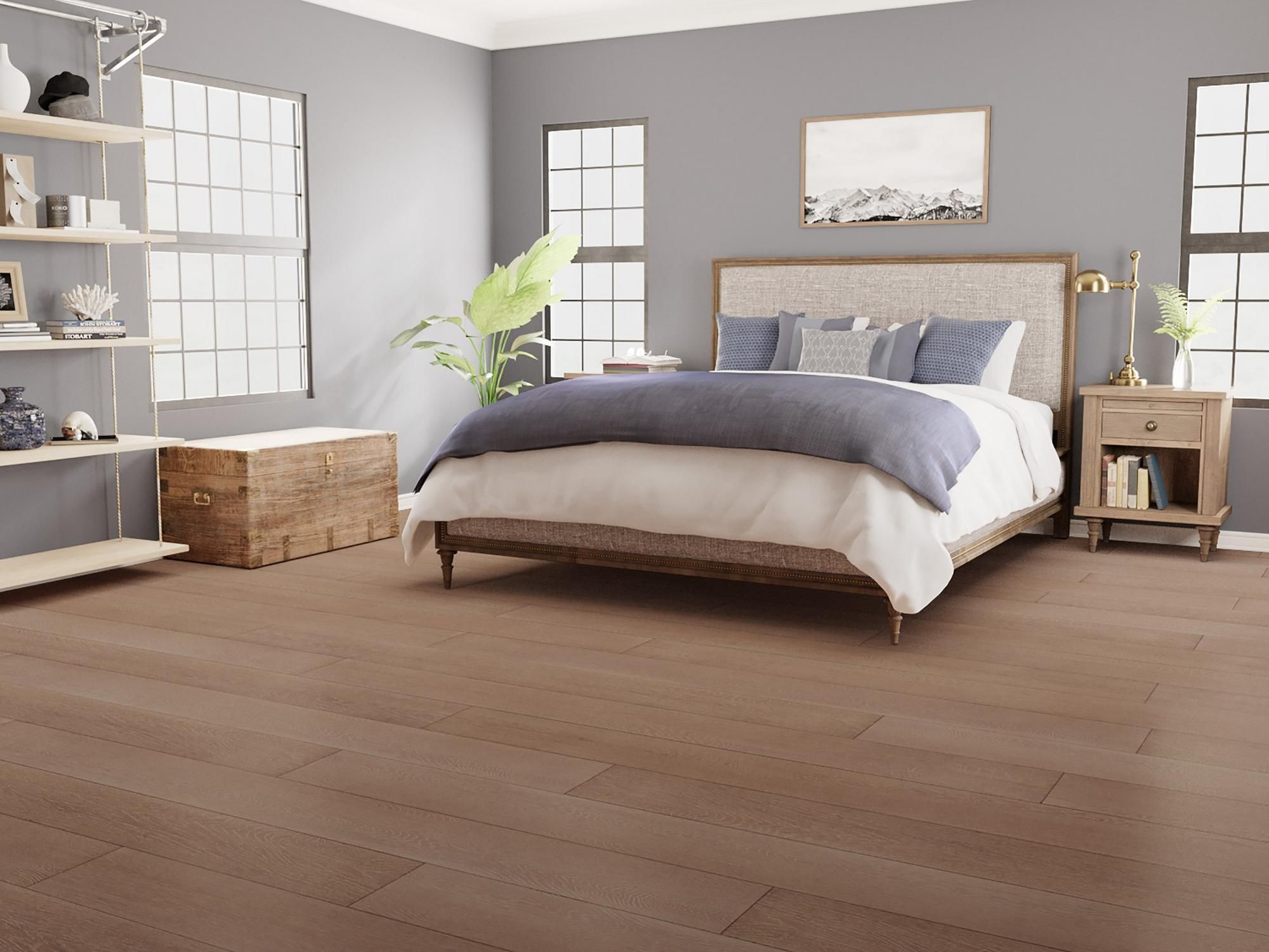 Eco Forest Latte Oak Solid Stranded Bamboo | Floor & Decor | Floor Decor, Bedroom Interior, Living Room Remodel