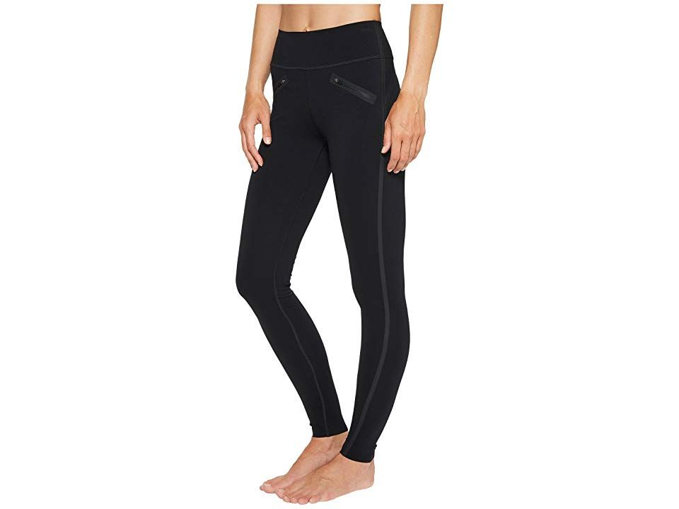 Spanx Tech Tape Leggings Very Black Womens Clothing Leggings designed to support you and your busy life Offers the support of a firm hug The slims built in Fused shaping...