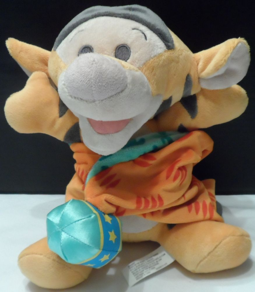 19 98 Plush Disney Babies Tigger Stuffed Animal With Attached