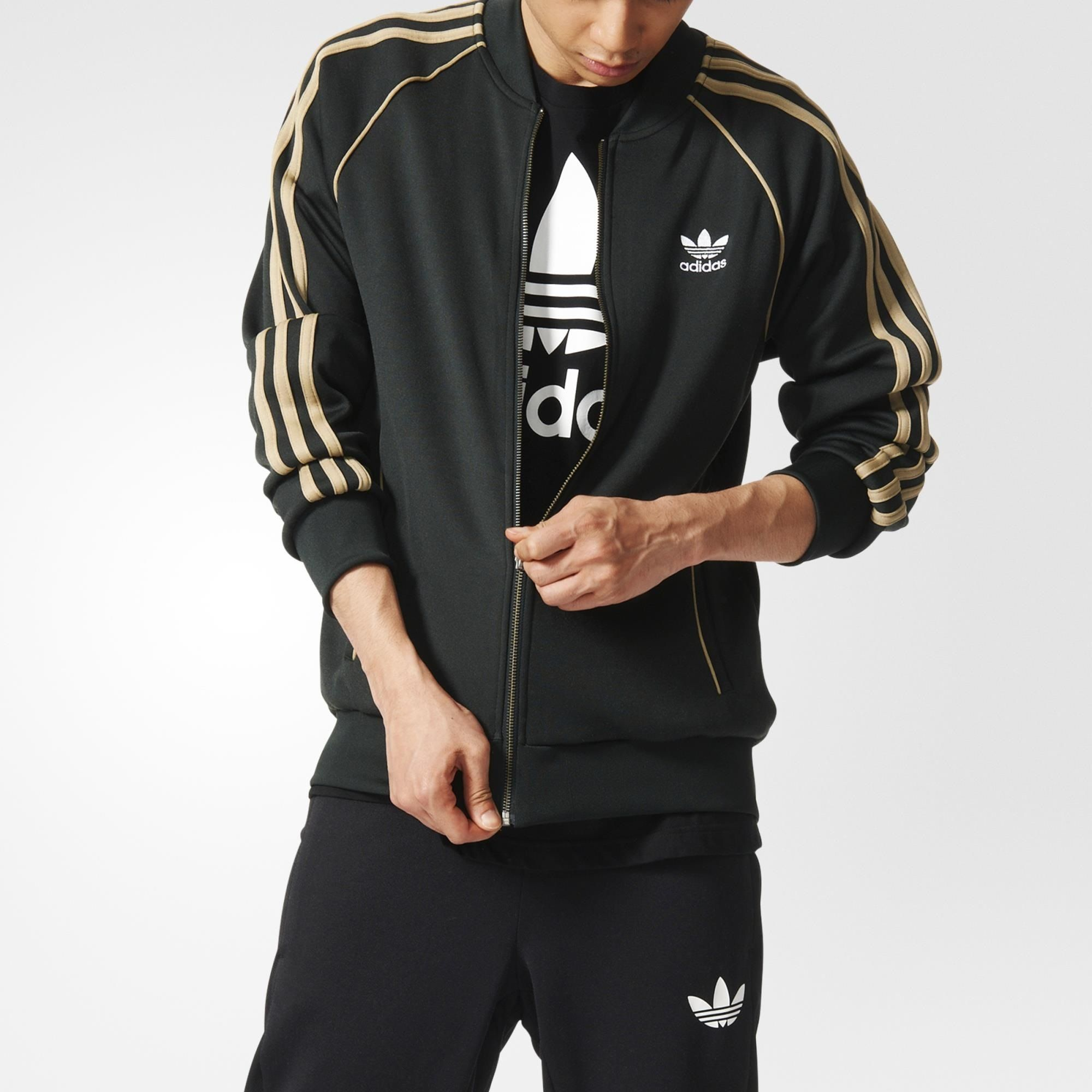 Adidas · This men's track jacket keeps the Superstar ...