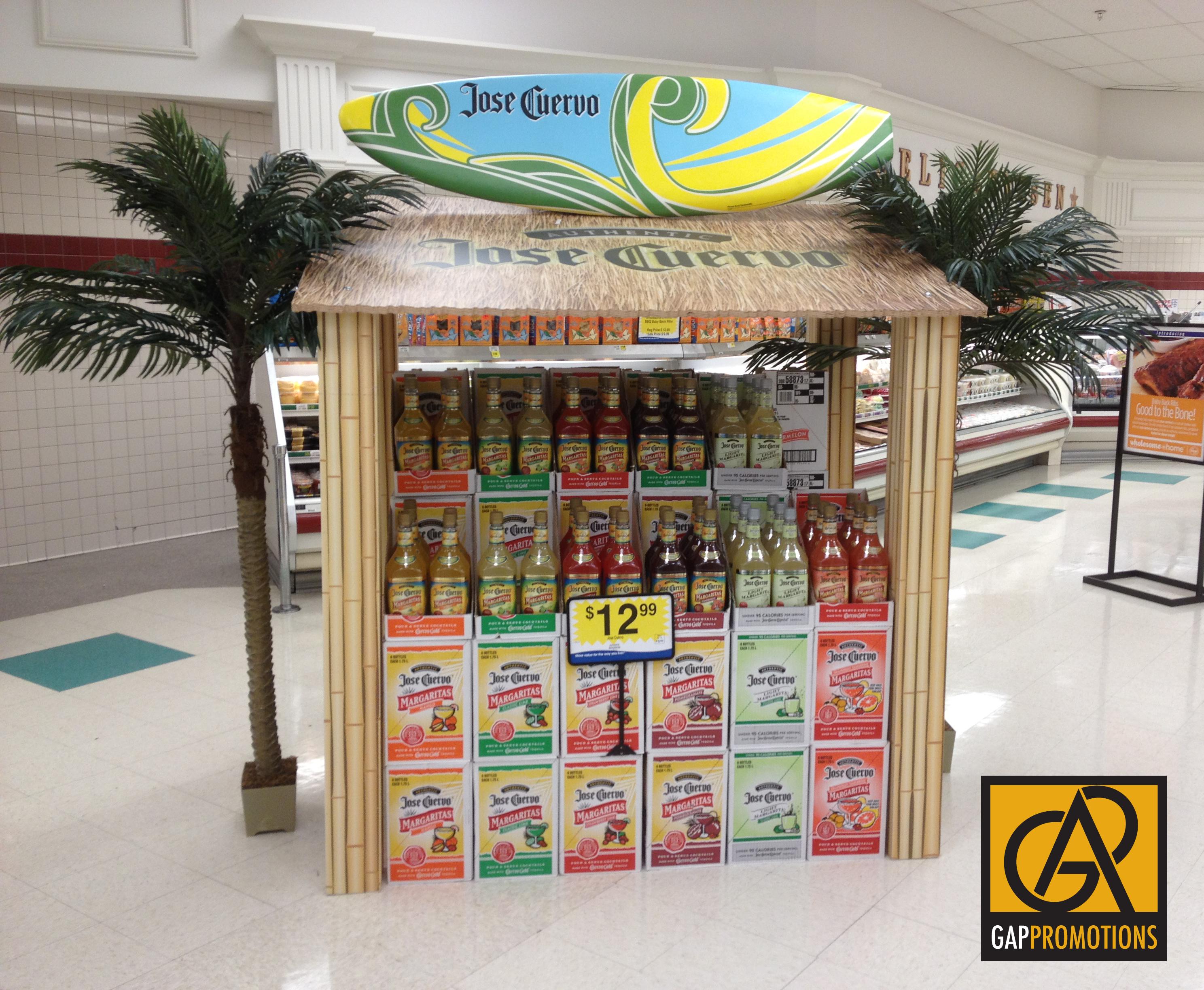 Jose Cuervo Beach Hut Beverage Displays Pos Display