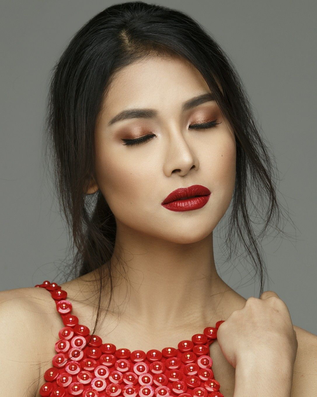 Sanya Lopez Makeup By Nananvillalba Redlips Beauty Tips For Hair Beauty Beauty Hacks