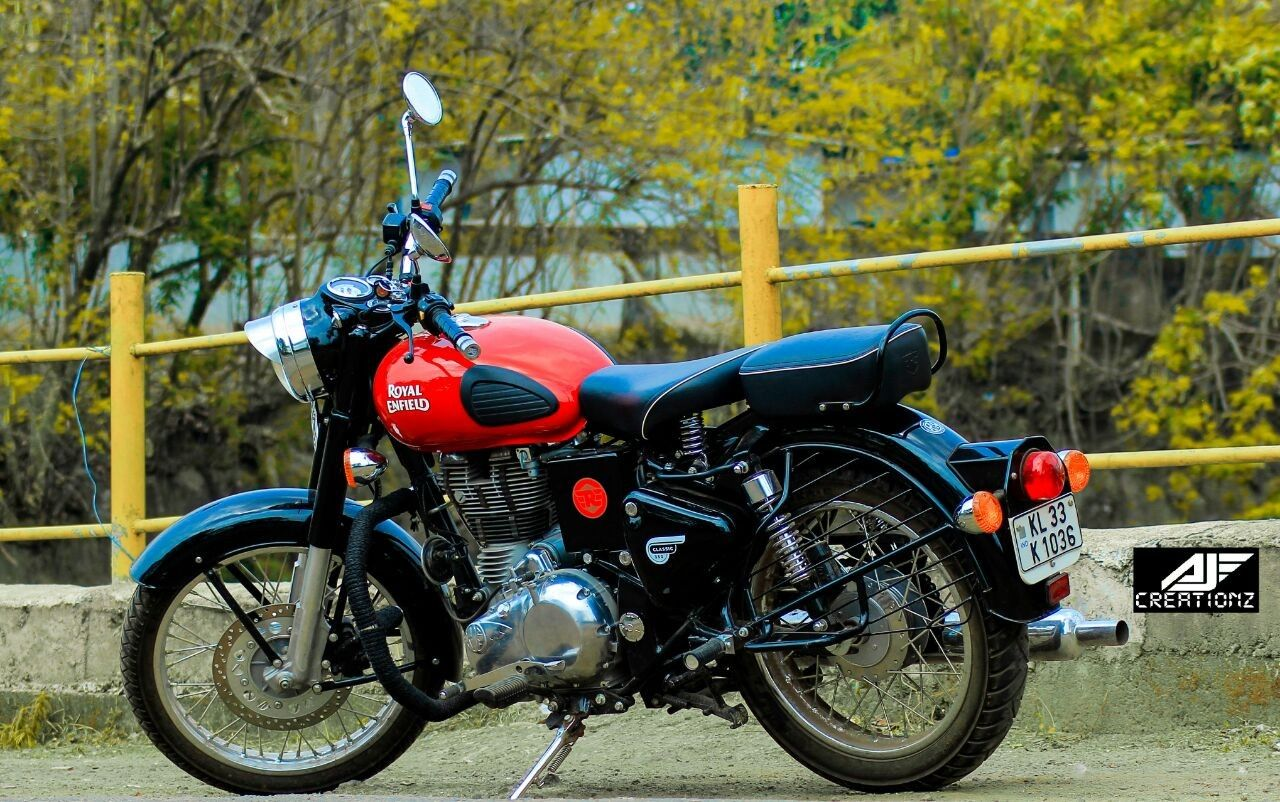 Royal Enfield Classic 350 Redditch Red Youtube With Images