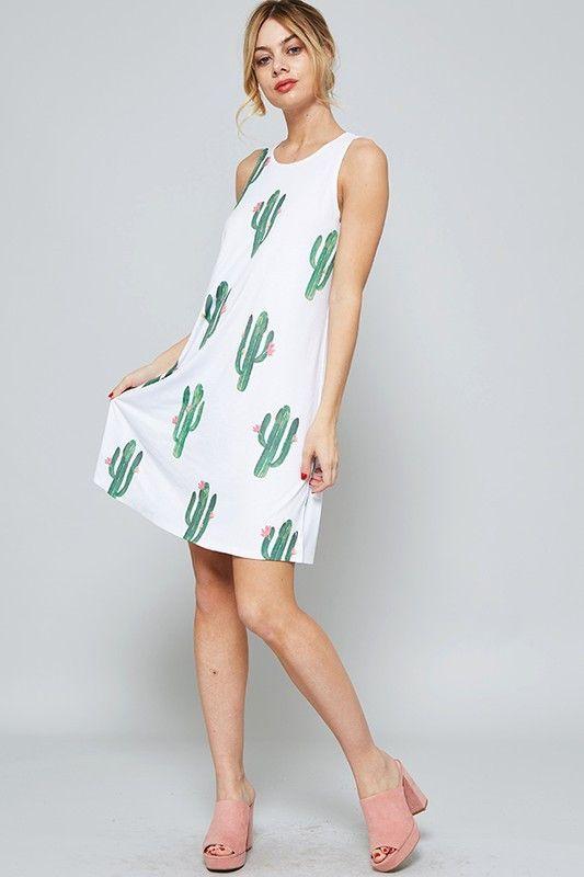 9e6740abc627 Cactus Mini Dress