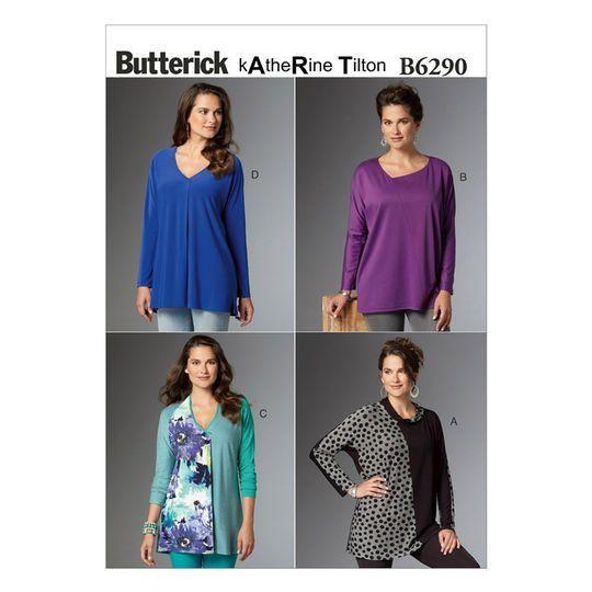 602ddb90bbb Butterick Pattern B6290 (LRG-XLG-XXL) in 2019