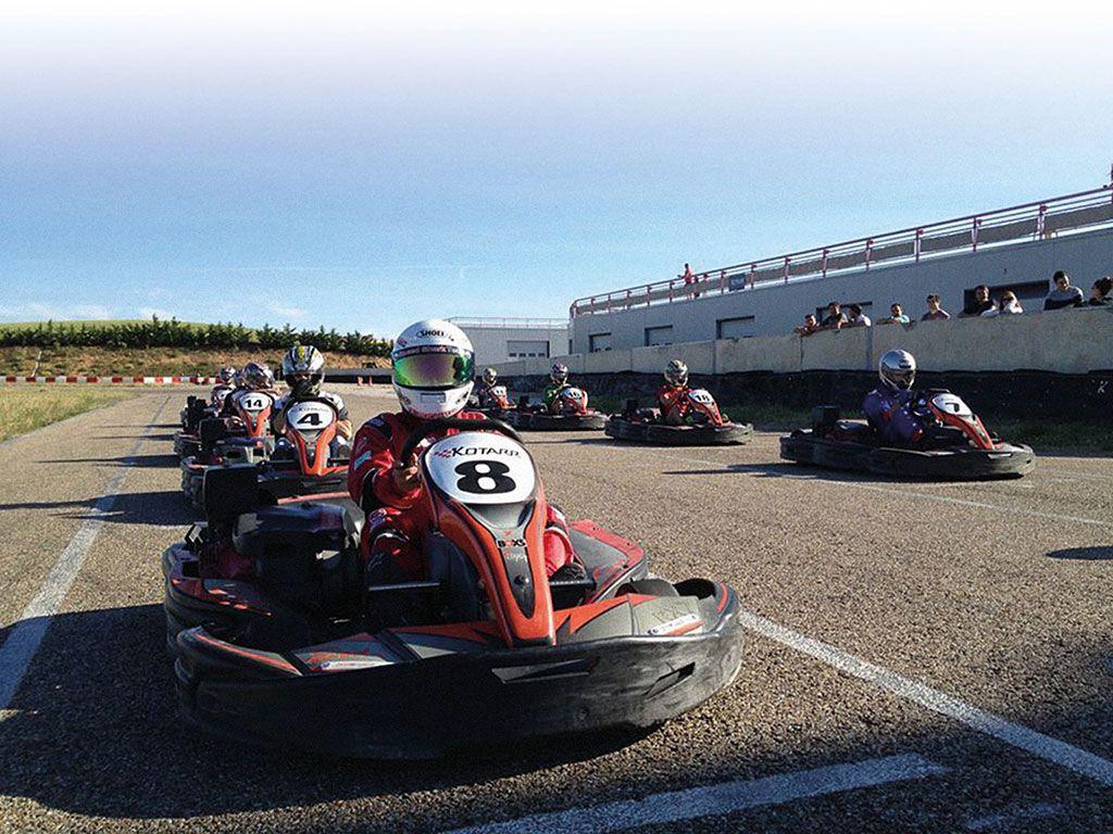 Circuito Kotarr : Karts en circuito kotarr turismo activo ribera del duero