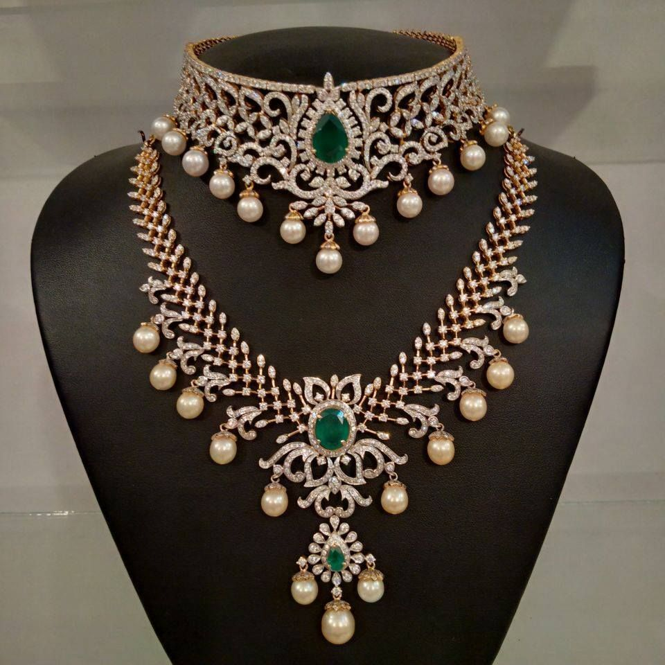 21 Traditional Gold Jewelry Set Designs For Marriage Necklace