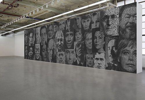 Hauser Gallery - Zürich; Ralph Ueltzhoeffer, Text Portraits von Persönlichkeiten.